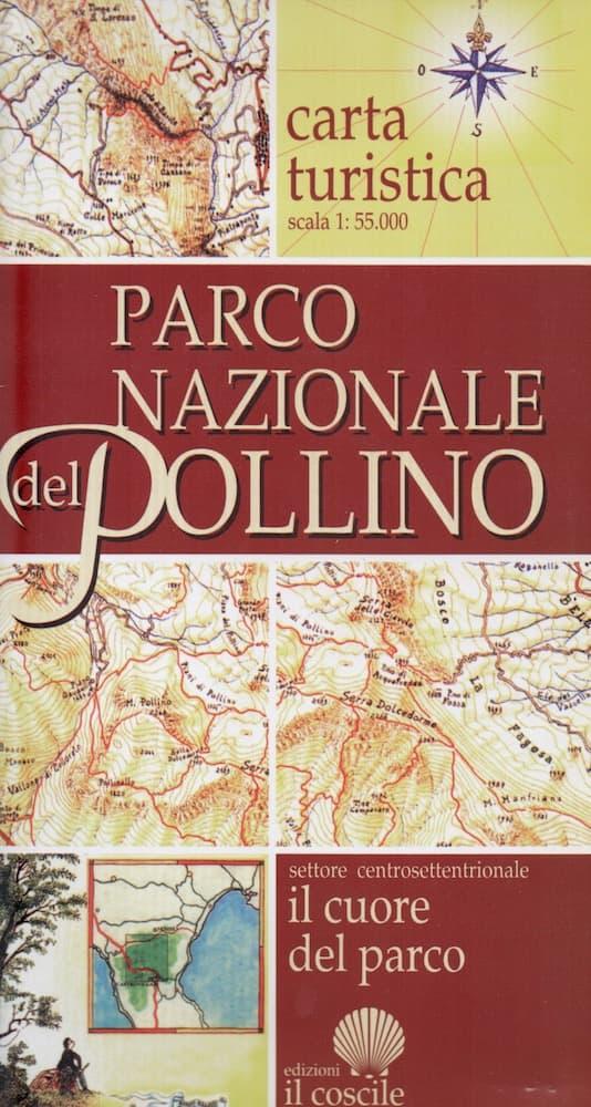 Carta turistica Parco Nazionale del Pollino