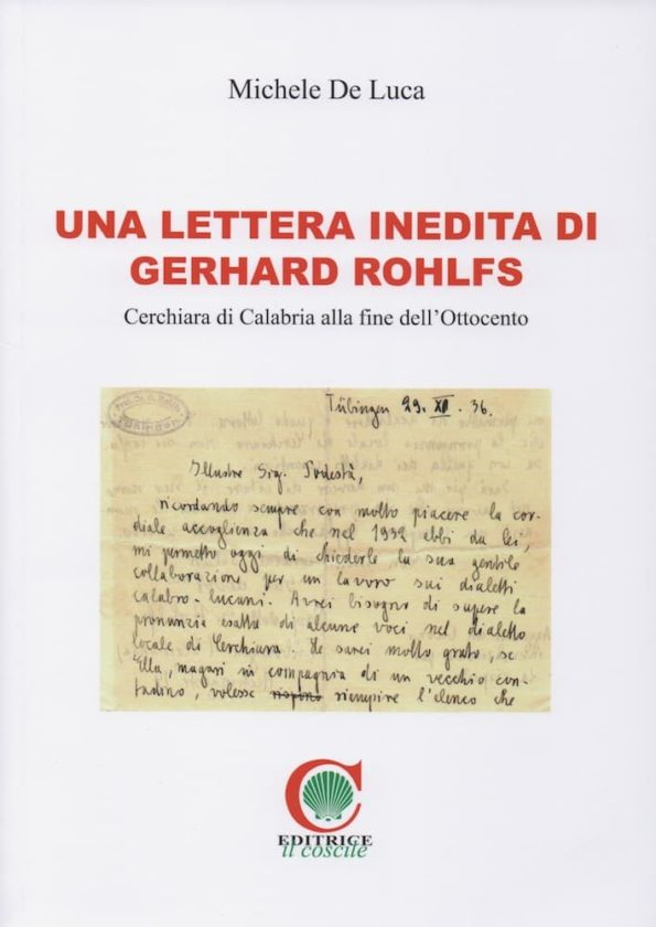 Una lettera inedita di Gerhard Rohlfs